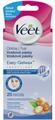 Veet Easy-Gelwax Hideggyanta Szalagok Arcra Mandulaolajjal és E-Vitaminnal