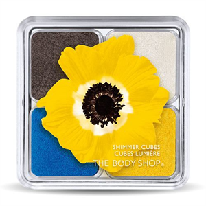 The Body Shop Yellow Shimmer Cubes