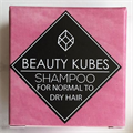 Beauty Kubes Zero Waste Organic Shampoo for Normal to Dry Hair