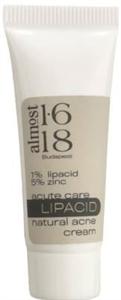 almost 1.618 1% Lipacid 5% Cink Természetes Acne Krém