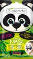 Bielenda Crazy Mask Méregtelenítő Hatású Fátyolmaszk (Panda)