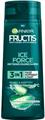 Garnier Fructis Ice Force Aloe 3In1 Sampon