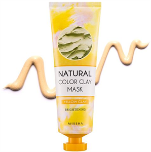 Missha Natural Color Clay Mask - Brightening