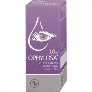 Ophylosa 0,15% Oldatos Szemcsepp