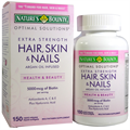 Nature's Bounty Optimal Solutions, Hair, Skin & Nails, Extra Strength