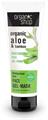 Organic Shop Madagaszkári Aloe Hidratáló Arcpakolás Bio Aloe Vera és Bambusz Kivonattal