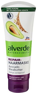 Alverde Repair-Haarmaske Avocado & Sheabutter