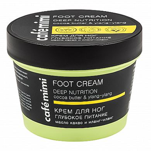 Café Mimi Foot Cream Deep Nutrition