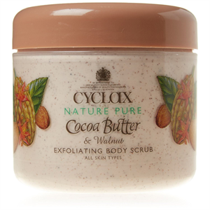 Cyclax Nature Pure Cocoa Butter & Walnut Exfoliating Body Scrub