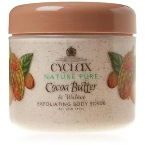 Cyclax Nature Pure Cocoa Butter & Walnut Exfoliating Body Scrub