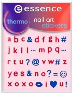 Essence Thermo Nail Art Stickers