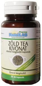 NutriLAB Zöld Tea Kivonat Kapszula