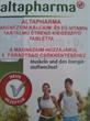 Altapharma Magnézium Kalcium és D3 Vitamin Tartalmú Étrendkiegészítő