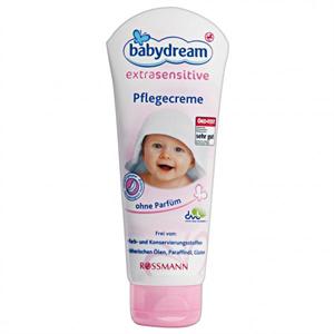 Babydream Extrasensitive Ápolókrém