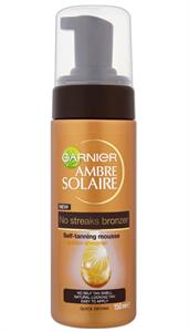 Garnier Ambre Solaire No Streaks Bronzer Self-Tanning Mousse