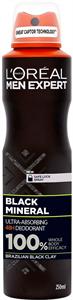 L'Oreal Paris Men Expert Black Mineral 48H Deo Body Spray