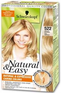 Schwarzkopf Natural & Easy Tartós Krémhajfesték