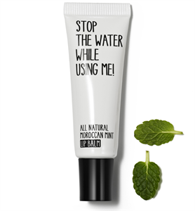 Stop The Water While Using Me! All Natural Moroccan Mint Lip Balm