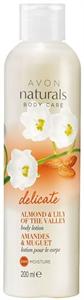 Avon Naturals Mandula és Gyöngyvirág Testápoló