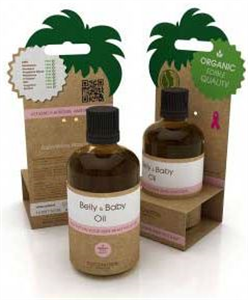 Coconutoil Cosmetics Baba-Mama Masszászolaj