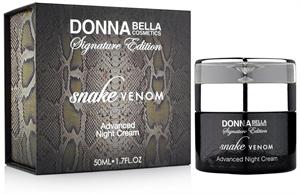 Donna Bella Snake Venom Éjszakai Arckrém