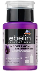 Ebelin Professional Acetonmentes Körömlakklemosó