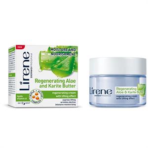Lirene Aloe és Karité Vaj Regeneráló Feszesítő Arckrém