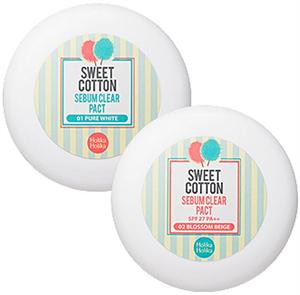 Holika Holika Sweet Cotton Sebum Clear Pact SPF27 / PA++