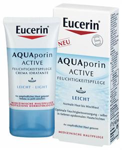 Eucerin AQUAporin ACTIVE Hidratáló Arckrém Normál, Vegyes Bőrre