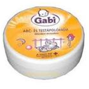 Gabi Arc- és Testápolókrém