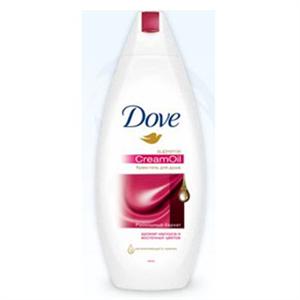 Dove  Supreme CreamOil Makadámia Olajjal  Tusfürdő