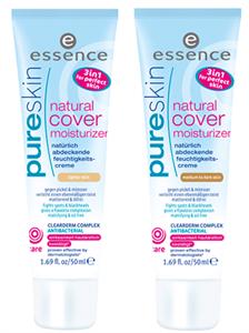 Essence Pure Skin Színezett Hidratáló