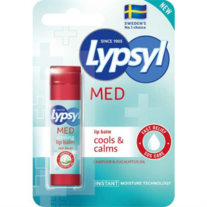 Lypsyl Med Cools & Calms Lip Balm