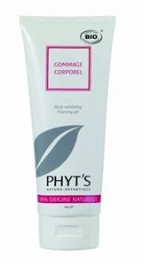 PHYT'S Gommage Corporel - Bio testradír gél sárgabarackmag őrleménnyel