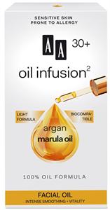 AA Oil Infusion2 30+ Intenzív Bőrkisimító, Vitalizáló Arcápoló Olaj