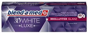 Blend-A-Med 3D White Luxe Brillanter Glanz Fogkrém