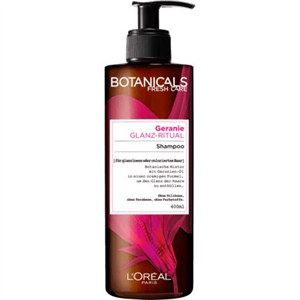L'Oreal Paris Botanicals Fresh Care Geranium Radiance Remedy Sampon Fakó, Festett Hajra