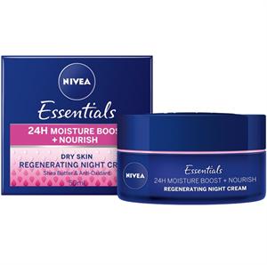 Nivea Essentials Tápláló Éjszakai Arckrém