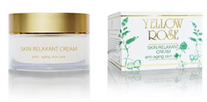 Yellow Rose Skin Relaxant Anti-Ageing Arckrém