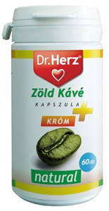 Dr. Herz Zöld Kávé + Króm Kapszula