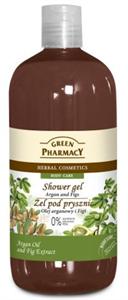 Green Pharmacy Gyógynövényes Tusfürdő Argánolaj és Füge