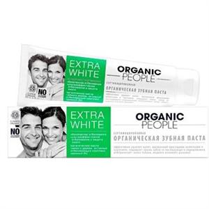 Organic People Extra White Toothpaste