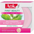 AOK First Beauty Mattító Púder Agyag&E Vitamin