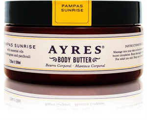 Ayres Pampas Sunrise Body Butter Testvaj