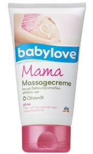 Babylove Mama Masszázskrém