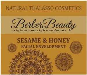 Berber Beauty Szezámos-Mézes Sárga Agyagpakolás