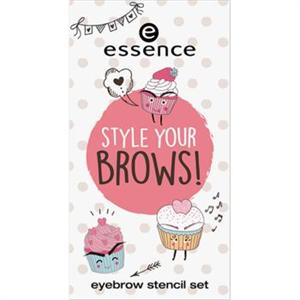 Essence Style Your Brows! szemöldök sablon szett