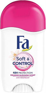 Fa Soft And Control Orange Blossom Scent