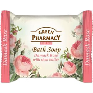 Green Pharmacy Gyógynövényes Krémszappan - Damaszkuszi Rózsa és Sheavaj