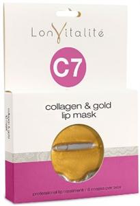 Lonvitalité C7 Collagen & Gold Lip Mask